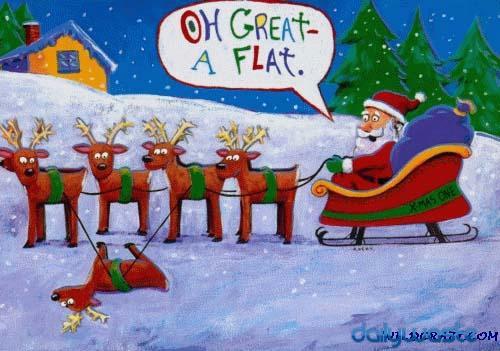[Image: funny-christmas-card-santa-gets-a-flat.jpg?w=500&h=351]